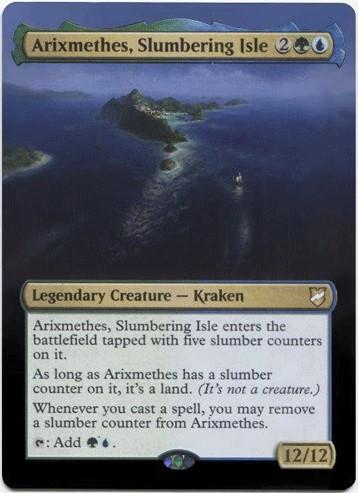 Arixmethes, Slumbering Isle Card