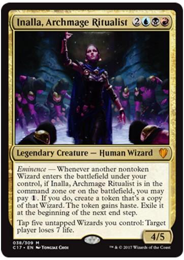 Inalla, Archmage Ritualist Card